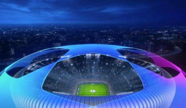 La imagen oficial de la Champions League