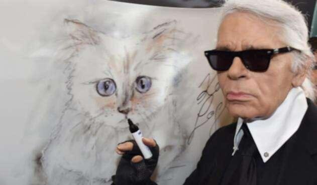 Choupette, la gata heredera de Karl Lagerfeld