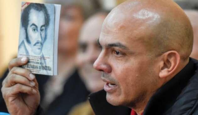 Clíver Alcalá Cordones, mayor general retirado del Ejército de Venezuela
