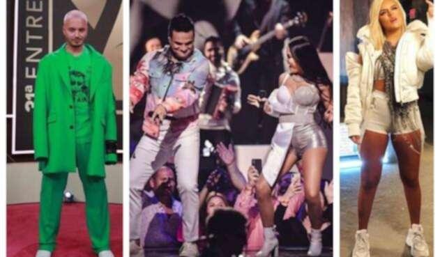 Colombianos galardonados en Premios Lo Nuestro 2019