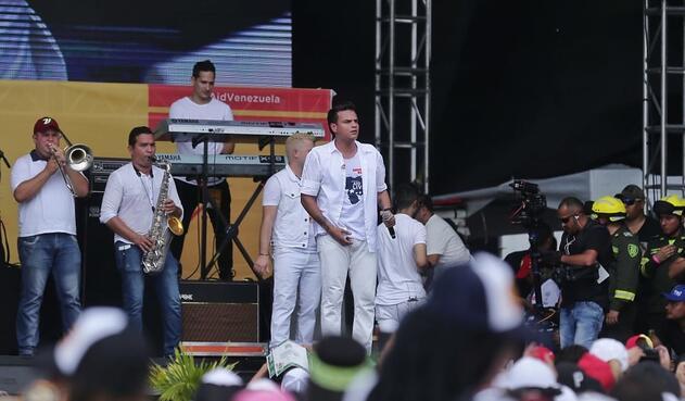 Silvestre Dangond en el 'Venezuela Aid Live'