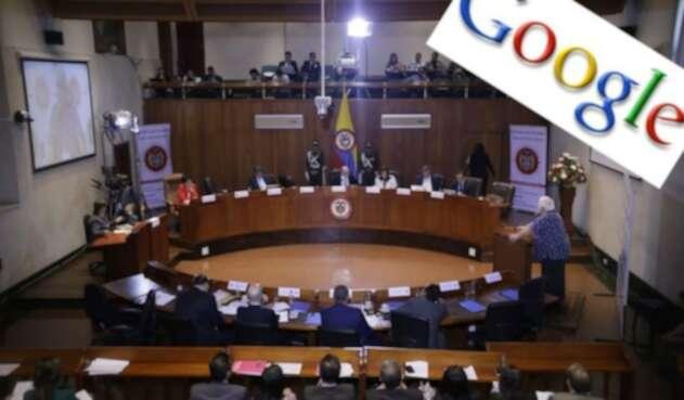 Debate de redes sociales en la Corte Constitucional