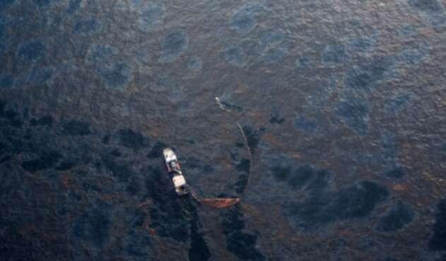 New Orleans, en inmediaciones del Golfo de México, el 28 de abril de 2010 tras el derrame de crudo