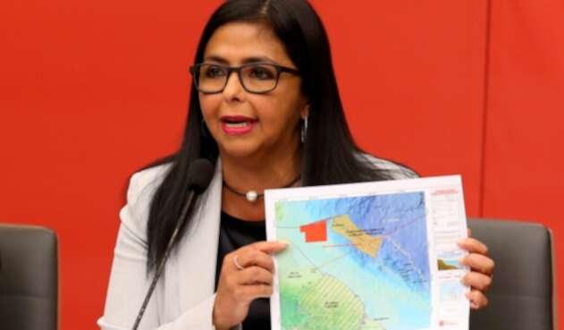 Delcy Rodríguez, vicepresidenta del gobierno de Nicolás Maduro