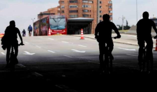 Día sin Carro en Bogotá Ciclovía