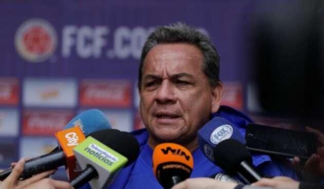 Didier Luna, técnico colombiano.