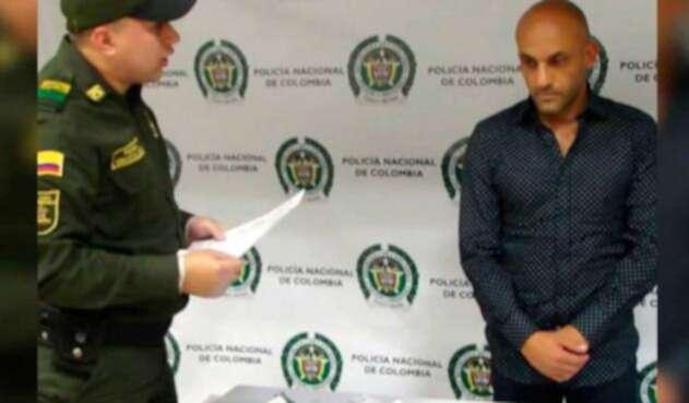 Diego León Osorio, exfutbolista condenado por narcotráfico