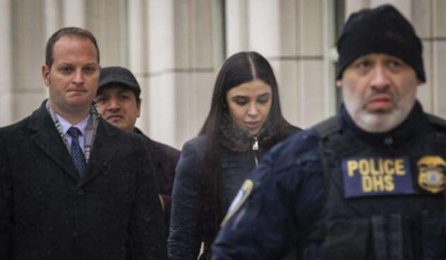 Emma Coronel, esposa del narcotraficante mexicano Joaquín 'El Chapo' Guzmán