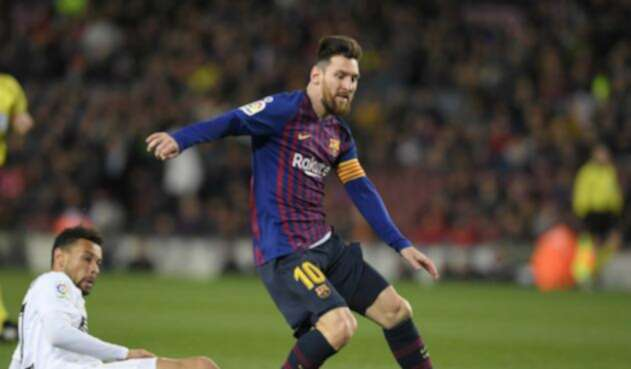 Messi anotó en el empate