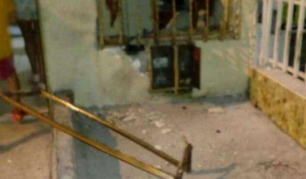 Explosión en Armenia