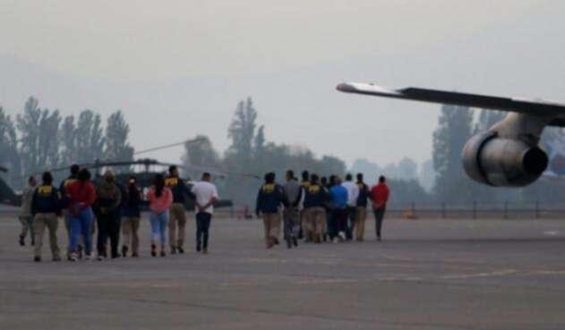Expulsión colombianos en Chile