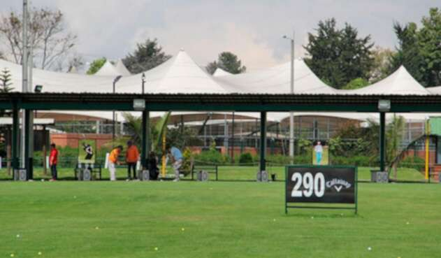 Campo de práctica de Fedegolf.