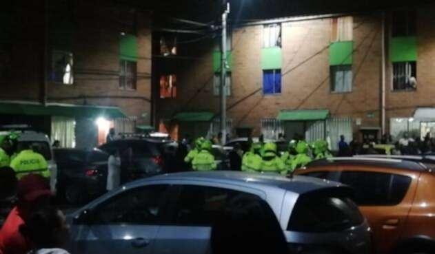Comunidad intenta agredir a un violador de menores en Bosa