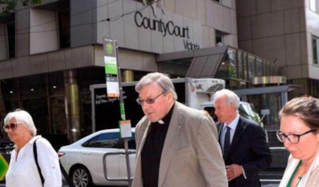 Cardenal George Pell, condenado por abuso sexual a menores