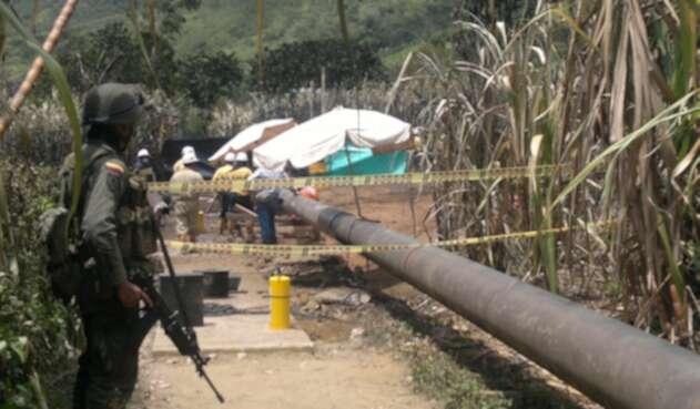 El Oleoducto fue asegurado pro las autoridades para adelantar los arreglos respectivos.