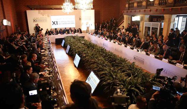 Solo tres países del Grupo de Lima no asistieron al encuentro.