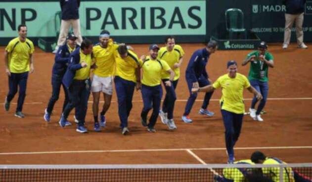 Colombia hizo historia en su participación de la Copa Davis 2019.