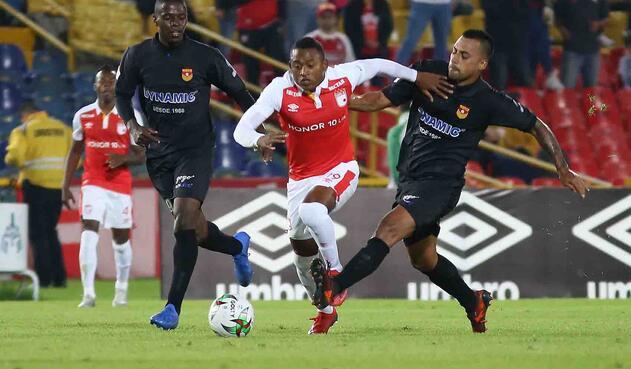 Independiente Santa Fe vs Bogotá - Copa Águila 2019