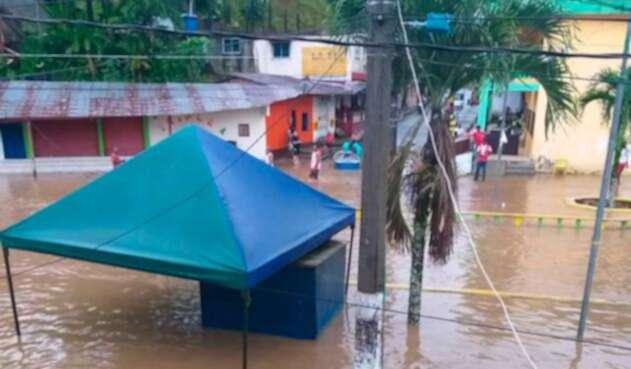Inundación en Chocó