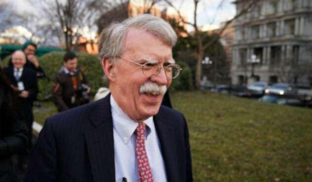 JohnBolton, consejero de Seguridad Nacional de la Casa Blanca