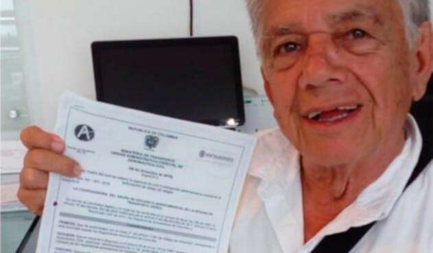 Jorge Mesa, ciudadano santandereano