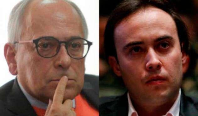 José Obdulio Gaviria y Nicolás Gaviria