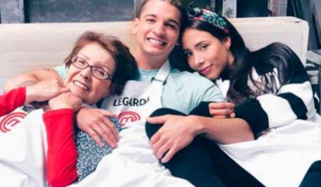 Margalida Castro, Fabio Legarda y Luisa Fernanda W