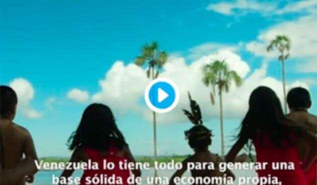 El video que Nicolás Maduro publicó en Twitter