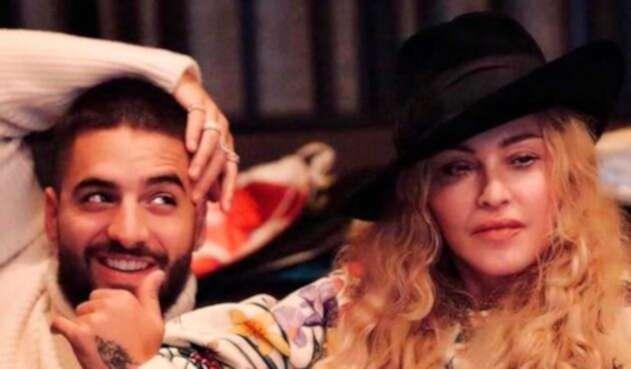 Maluma y Madonna están preparando una colaboración