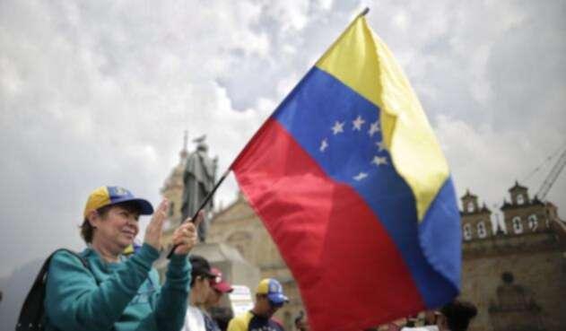 Marchas de venezolanos en Bogotá