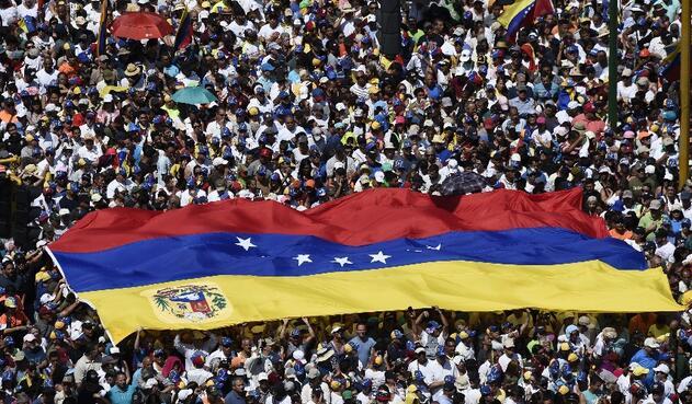 Marchas en Venezuela, 23 de febrero de 2019