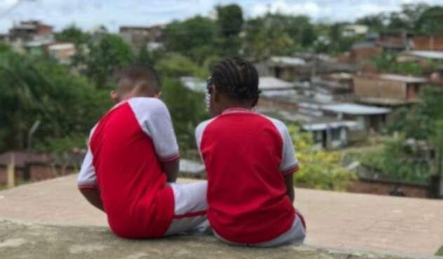 Menores en el conflicto