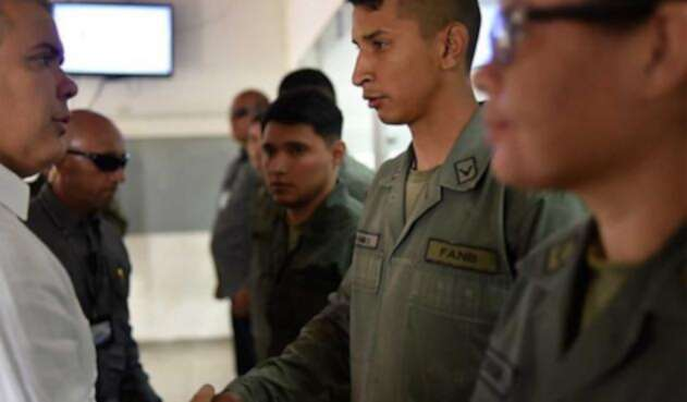 Militares que han salido de Venezuela