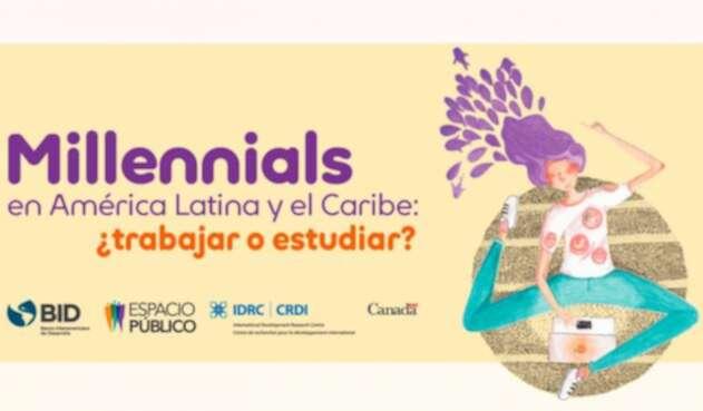 Imagen del estudio llevado a cabo sobre los Millennials en América Latina