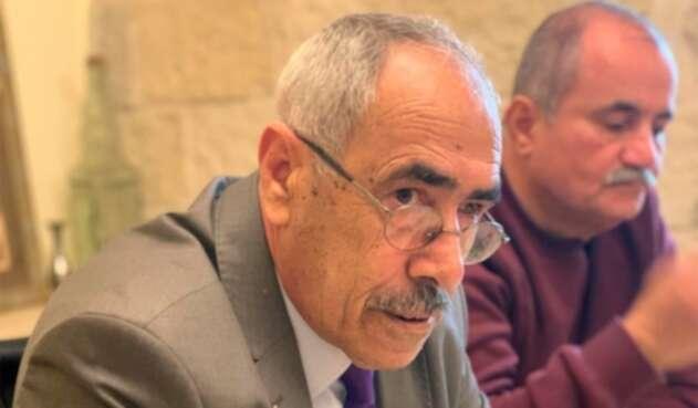 Mohamed Odeh, miembro del Comité palestino de Interacción con la Sociedad israelí