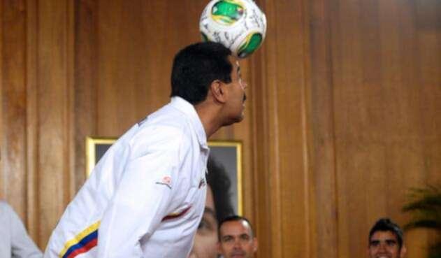 Nicolás Maduro, presidente de Venezuela, el 30 de abril de 2013 en Caracas