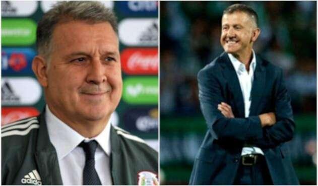 'Tata' Martino y Juan Carlos Osorio
