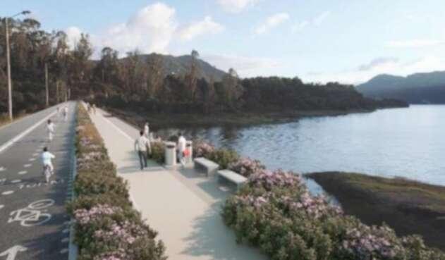 Parque ecológico en embalse San Rafael
