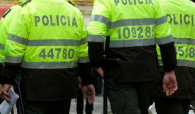 Foto de referencia sobre uniformados de la Policía Nacional