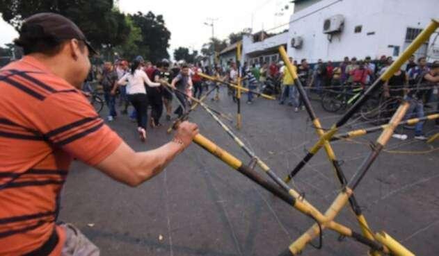 Protestas en Ureña