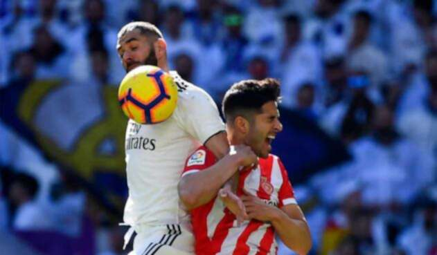 Real Madrid quedó estacionado con 47 puntos en la tabla de la liga española.