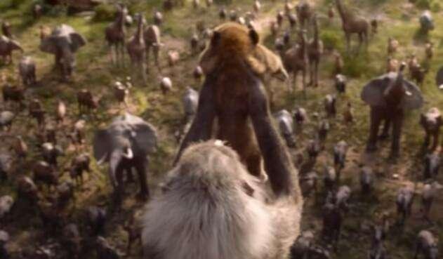 La cinta basada en el clásico de Disney publicó un nuevo adelanto de lo que será la historia en acción real.