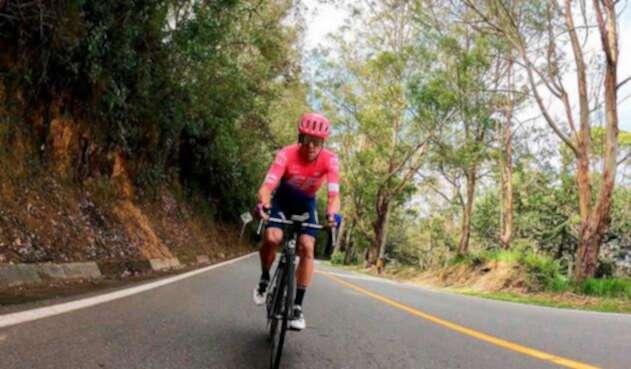 Rigoberto Urán, primer líder del Tour Colombia 2.1