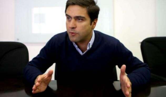 Samuel Hoyos, precandidato uribista a la Alcaldía de Bogotá.