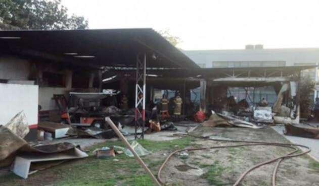 Incendio en un centro de entrenamiento del Flamengo en Río de Janeiro
