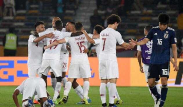 Selección de Catar venció a Japón en la Copa de Asia