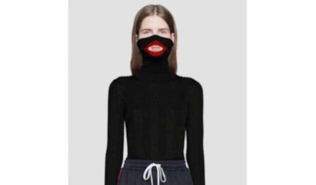 Suéter considerado racista de la compañía Gucci
