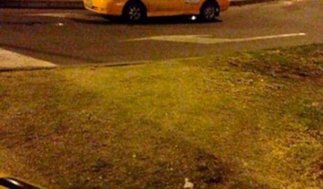 Imagen de referencia de un taxista en Bogotá