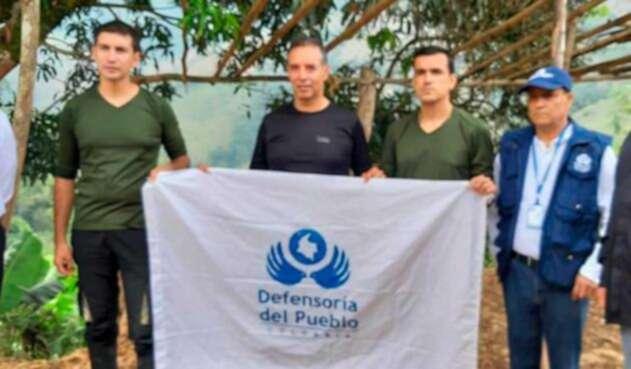Tripulación secuestrada de helicóptero derribado en el Catatumbo
