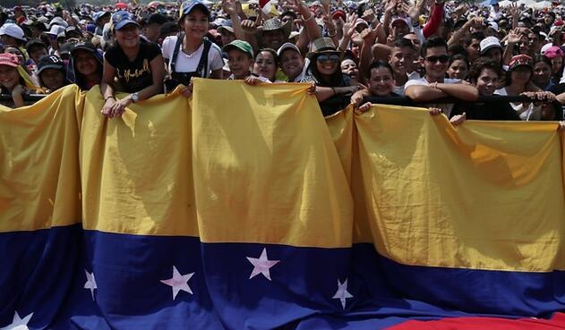 Colombianos y venezolanos, unidos en un solo propósito